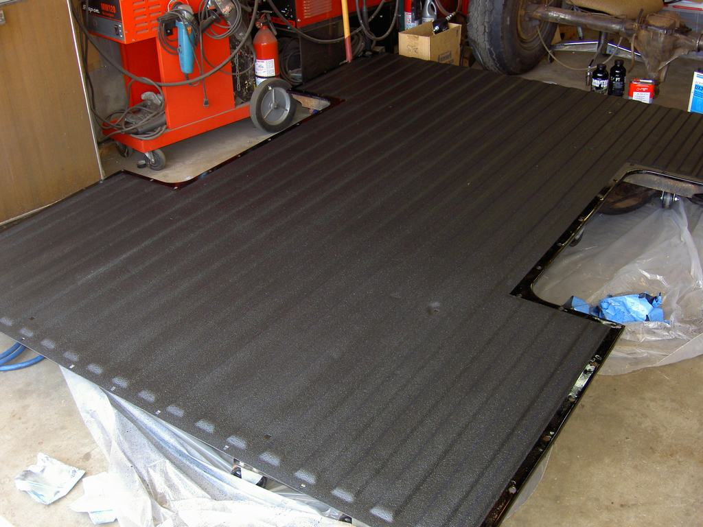 PICT2664 - This is Raptor DIY spray on bed liner.  Worked great and was easy to do.