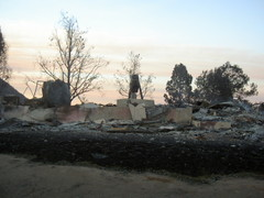 Highlight for Album: San Diego Wildfires 2007