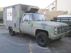Highlight for Album: 1984 Chevy CUCV M1010 Ambulance