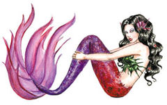 mermaid-fuscia