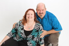Highlight for Album: Lisa and Mike Portraits