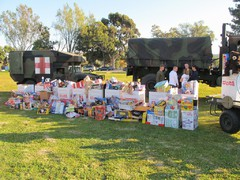 Highlight for Album: ExPo Toys for Tots, Dec. 10, 2011